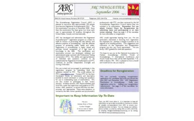 Our First Newsletter